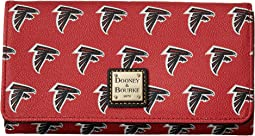 Dooney & Bourke NFL Signature Daphne Crossbody Wallet