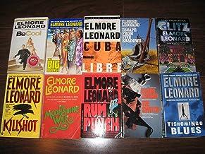 Elmore Leonard Combo Pack (10 TITLES) Be Cool, The Big Bounce, Cuba Libre, Escape From Five Shadows, Glitz, Killshot, The ...