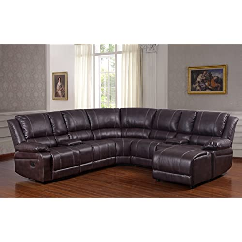 Sectional Sofa with Chaise and Recliner: Amazon.com