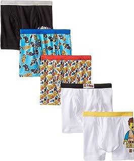 Lego Boys' LEGO Movie 5 Pack Boxer Briefs