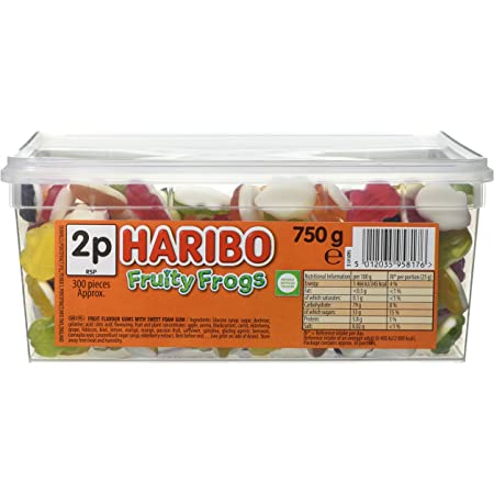 Haribo Fruity Frogs Sweets 750g