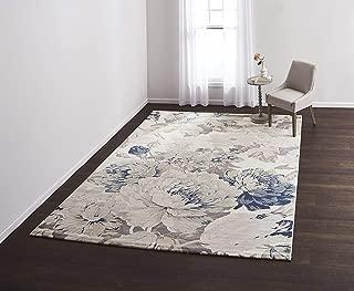 VCNY Home Julia Area Rug, 8X10, Blue