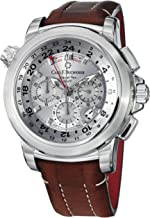 Carl F. Bucherer Patravi TravelTech Men's Silver Face Automatic Chronograph Watch 00.10620.08.63.01