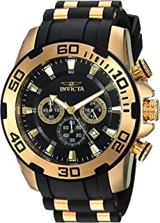 Invicta Men s  Pro Diver  Quartz Stainless Steel and Silicone ... e8d621d27cd