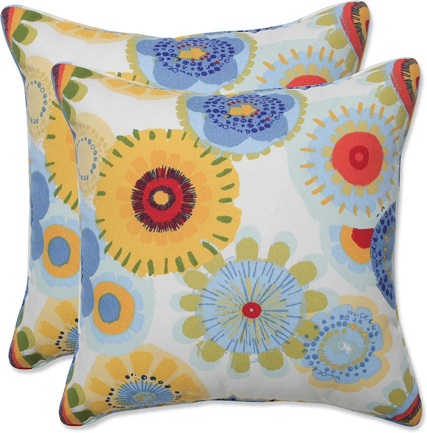 Pillow Perfect 200 Outdoor/Indoor Crosby Confetti Throw Pillows, 200.200