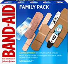 Band-Aid Brand Adhesive Bandage Family Variety Pack in Assorted Sizes including Water..