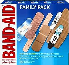 باند کمپلکس Band-Aid Brand Package برای کمک های اول و مراقبت از زخم، اندازه های مختلف، 120 سانتیمتر