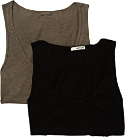 LAmade Boyfriend Tank Top 2-Pack