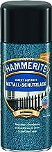 AKZO NOBEL (DIY Hammerite) metaalbeschermende lak hamerslag donkergroen 0,400 L, 5087603 kleur: hamerslag donkergroen
