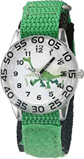 Disney Kids' W002209 Arlo Analog Display Analog Quartz Green Watch