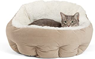 Best Friends by Sheri OrthoComfort Deep Dish Cuddler - Self-Warming Cat and Dog Bed Cushion for Joint-Relief and Improved ...