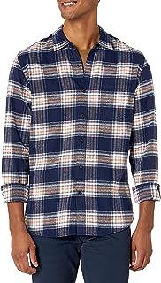 Amazon Essentials Men's Slim-Fit Long-Sleeve Flannel Shirt