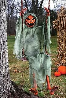 Fun World Unisex-Adult's Swinging Pumpkin, Multi, Standard