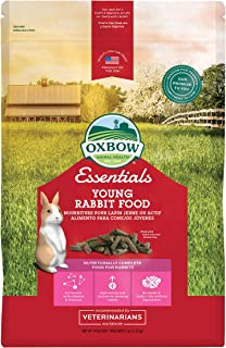 Oxbow Animal Health Essentials Young Rabbit Food (Alfalfa Based) 5 Lb
