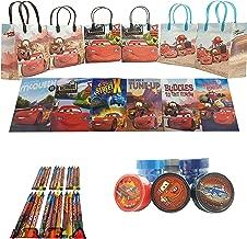 Disney Cars Party Favor Set - 6 Packs (42 Pcs)