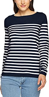 TOMMY HILFIGER Women's New Ivy Boat Neck Striped Sweater