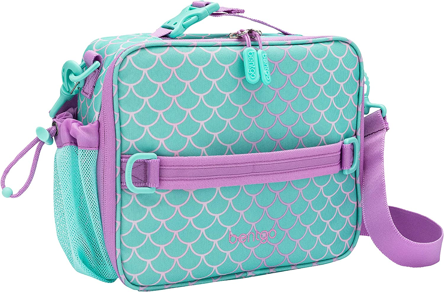 Bentgo Kids Prints Lunch Bag - Double Insulated, Durable, Water-