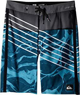 Highline Lava Slash Boardshorts (Big Kids)