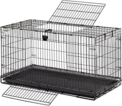 MidWest Wabbitat - Jaula plegable para conejos, Jaula de