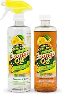 Green Gobbler All Natural Orange Oil Concentrate – 22.5 oz (D-Limonene)
