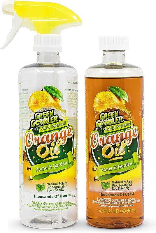 Green Gobbler All Natural Orange Oil Concentrate 22 5 Oz D Limonene