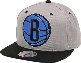 NBA Mens Mitchell & Ness Reflecitve XL Logo Snapback