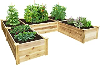 u shaped garden bed