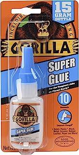 Cpi Manufacturing 7805002 Gorilla Super Glue, 15 G, Clear