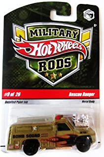 Best hot wheels military rods Reviews