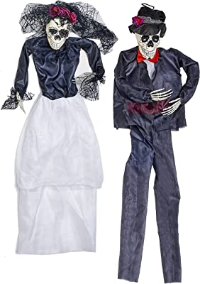 """Worth Imports 36"""" Hanging Bride and Groom (Set of 2) Home Décor"""