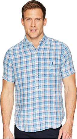 Linen Short Sleeve Sport Shirt