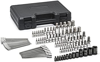 """GEARWRENCH 84 Pc. 1/4"""", 3/8"""" & 1/2"""" Drive Hex/Ball End Hex/Tamper.."""