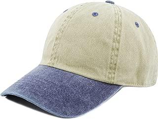 100% Cotton Pigment Dyed Low Profile Dad Hat Six Panel Cap