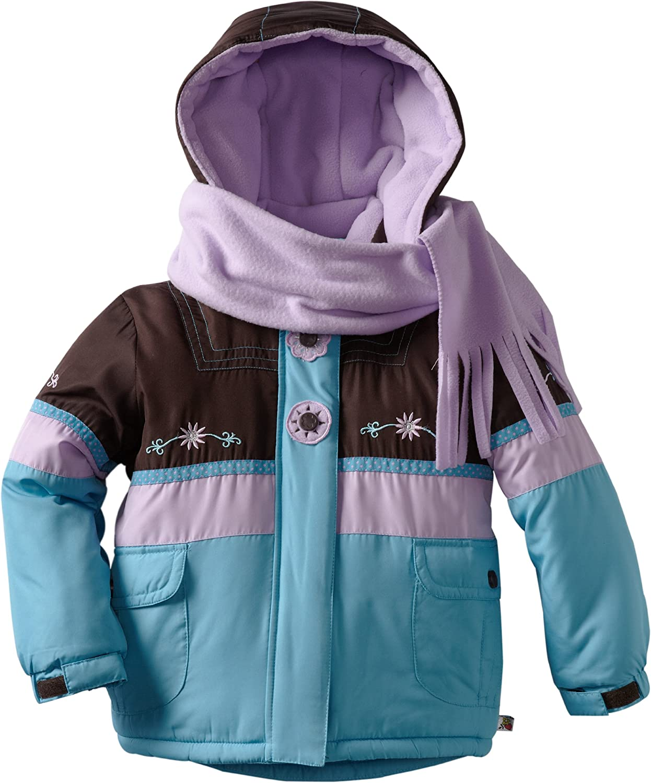 Rothschild Little Girls' Colorblock Jacket