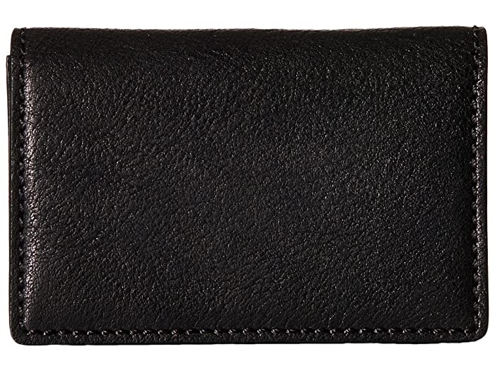 Bosca  Washed Collection - Full Gusset Card Case (Black) Credit card Wallet