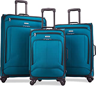 Pop Max Softside Luggage with Spinner Wheels, Teal,...