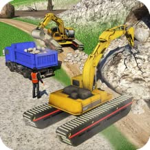 Offroad Construction Truck Simulator 2018: Heavy Duty Excavator Crew in Road Builder Games Free for Kids