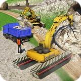 Fora da estrada Construção Caminhão Simulador 2018: Pesado Dever Escavadora Equipe técnica Estrada Construtor Jogos Livre para Crianças