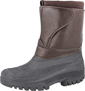 Groundwork Snow Winter Ice Boots Wellingtons Calf 1/2 Mens UK 7-11
