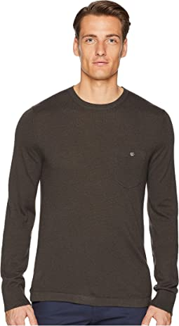 Long Sleeve Cashmere T-Shirt Sweater