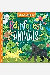Hello, World! Rainforest Animals Kindle Edition