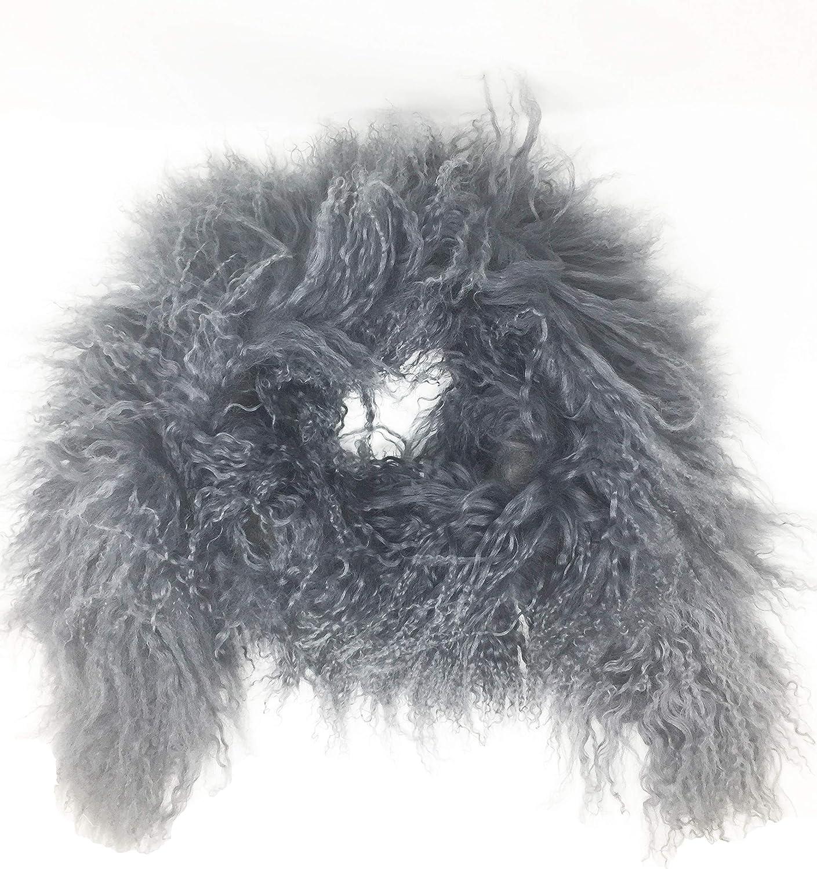 Jocelyn Tibetan Lamb Fur Scarf
