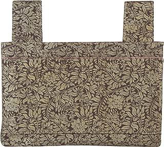 Qelse Designer Walker Bag 3-Pocket Tote Organizer Pouch Neutral Beige Khaki Accessories for Beautiful Mobility