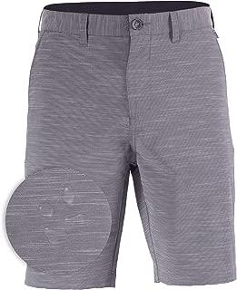 Mens Hybrid Golf Shorts Stretch Quick Dry Swim Trunks Boardshorts