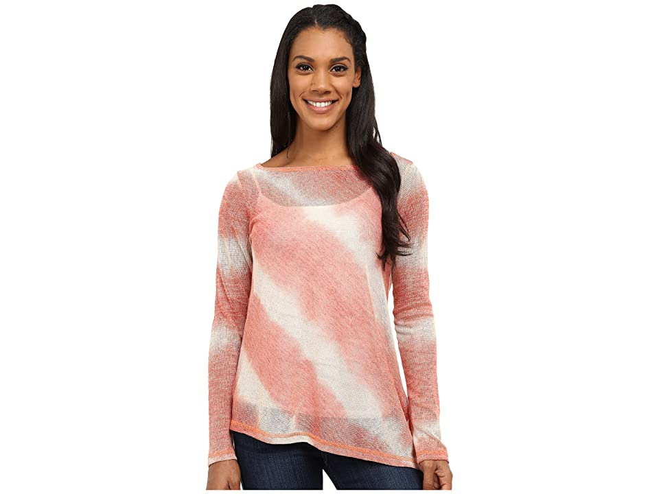 Prana Addison Top (Rhubarb) Women's Long Sleeve Pullover