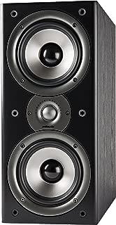 Polk Audio Monitor 40 Series II Bookshelf Speaker - Big Sound, High Performance | Perfect for Small or Medium Size rooms | Black, Single
