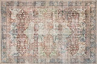 Loloi Loren Collection Vintage Printed Persian Area Rug 3'-6