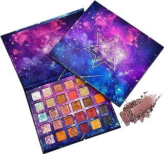 Eyeshadow Palette, Rainbow Color Eye Makeup Gift Kit, Waterproof and Sweatproof Long-Lasting Color Eye Shadow Powder, 30 B...