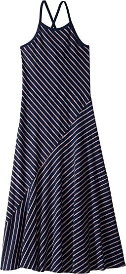 Striped Cotton Jersey Maxi (Little Kids/Big Kids)