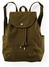 BAGGU Drawstring Backpack, Durable and Stylish For Daily Essentials, Kelp